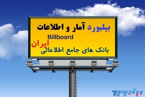 تصویر شماره بیلبورد بانک های جامع اطلاعاتی ایران